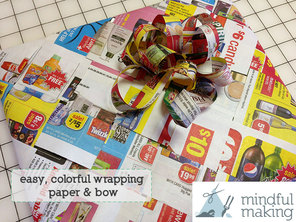 Mindful Making Paper Weave Wrap